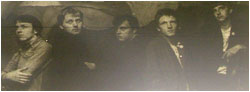 Caption: The Classified Ads…Left to right: Alan turner, Sam Holliday, Paul Clements, Derek Goodwin and Simon Webster.